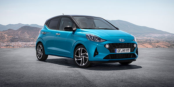 Nuevo Hyundai i10 vista frontal