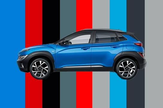 Nuevo Hyundai Kona vista lateral