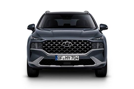 Nuevo Hyundai Santa Fe Híbrido Eléctrico vista frontal