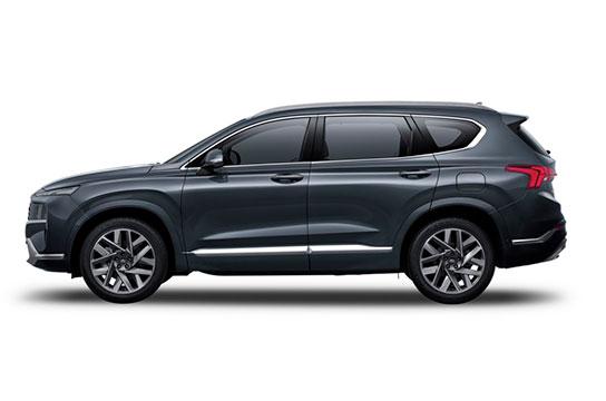 Nuevo Hyundai Santa Fe Híbrido Eléctrico vista lateral