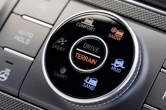 Nuevo Hyundai Santa Fe Híbrido Modos de Conducción