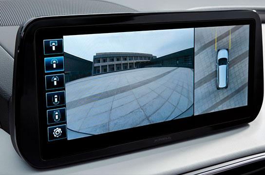 Nuevo Hyundai Santa Fe Híbrido pantalla 360