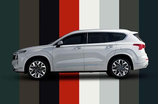 Nuevo Hyundai Santa Fe Híbrido Colores disponibles