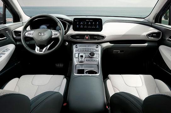 Nuevo Hyundai Santa Fe Híbrido Interior