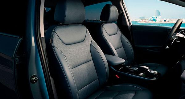 Hyundai IONIQ Eléctrico confort asientos