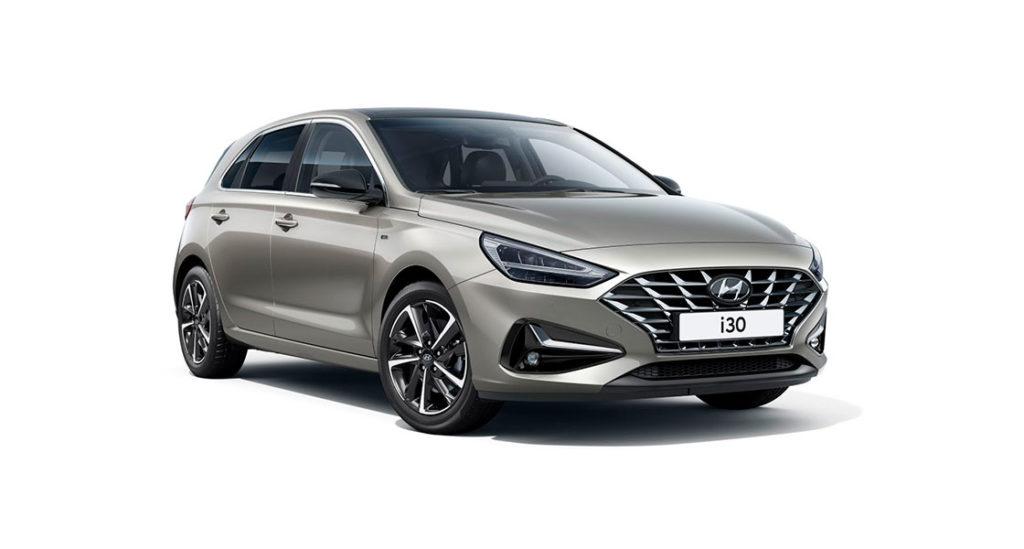 Nuevo Hyundai i30 frontal
