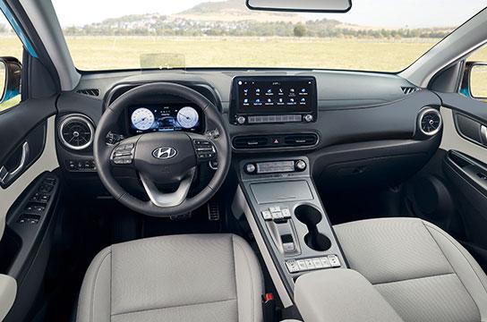 Nuevo Hyundai Kona Eléctrico interior