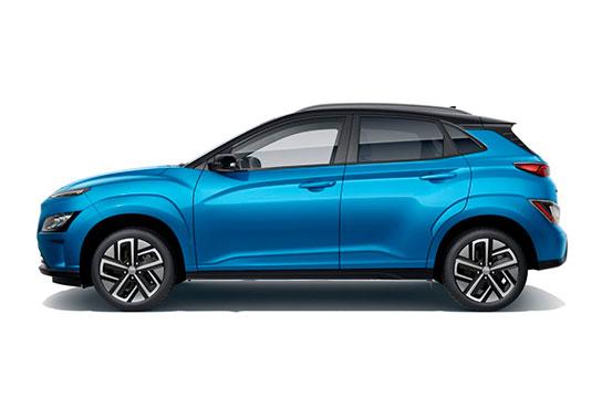 Nuevo Hyundai Kona Eléctrico lateral