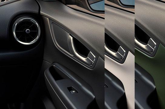 Nuevo Hyundai Kona Eléctrico colores interior
