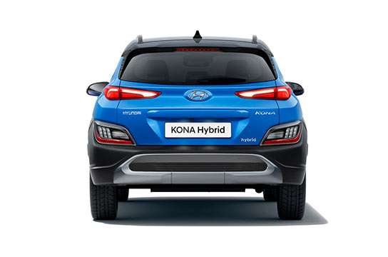 Nuevo Hyundai Kona Eléctrico trasera