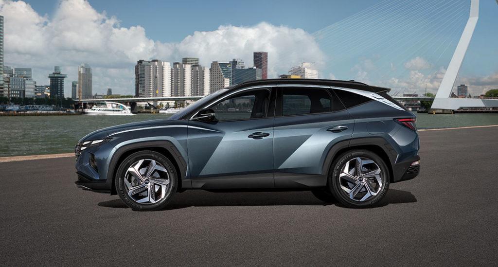 Nuevo Hyundai Tucson vista lateral