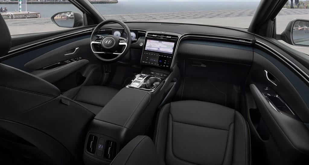 Nuevo Hyundai Tucson interior