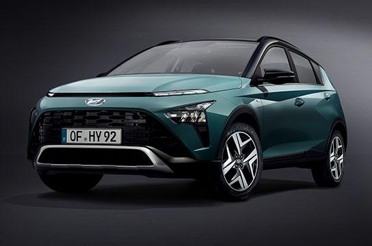 Nuevo Hyundai BAYON vista delantera