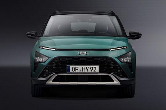 Nuevo Hyundai BAYON frontal