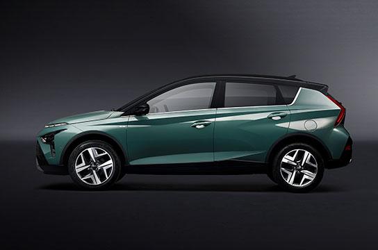 Nuevo Hyundai BAYON lateral