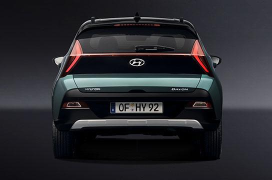 Nuevo Hyundai BAYON trasera