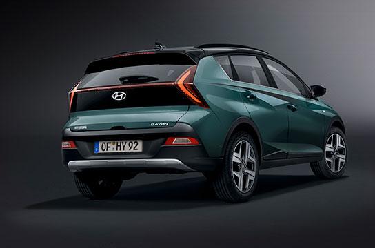Nuevo Hyundai BAYON vista trasera