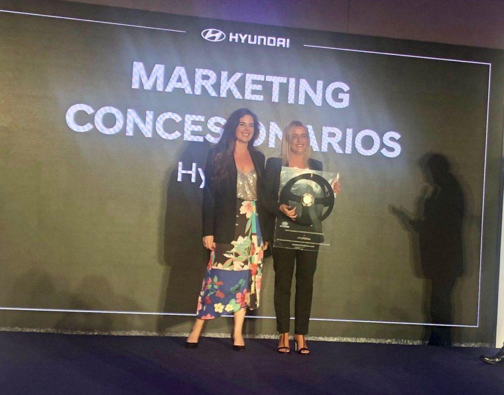 Premio Hyundai al mejor marketing en concesionarios para Hyupersa Ourense